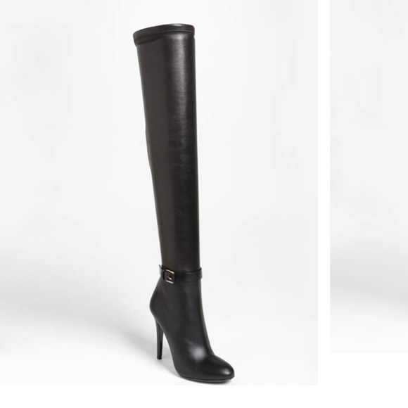 605d8fce9c01 Jimmy Choo Shoes - TAMBA Forest Calf Stretch Nappa Thigh High Boots
